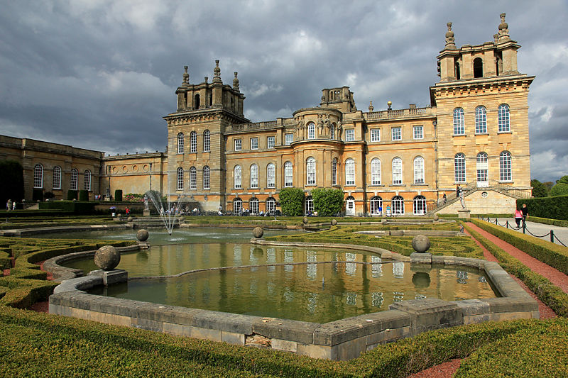 Oxfordshire - Woodstock - Blenheim Palace
