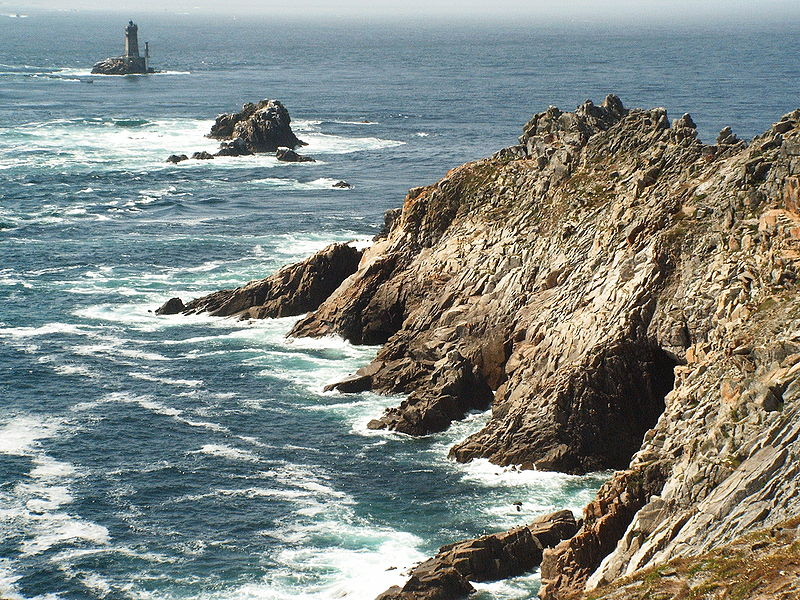 Felsformationen am Pointe du Raz