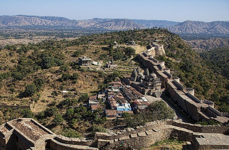 Rajasthan - Rajsamand - Kumbhalgarh Fort - Great Wall of India
