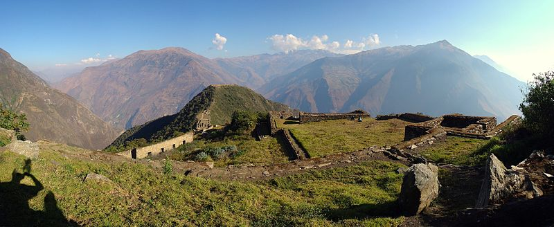 Region Cusco - Inkastadt Choquequirao - Panorama