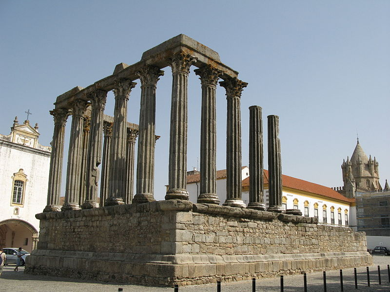 Evora - Roman Temple of Evora